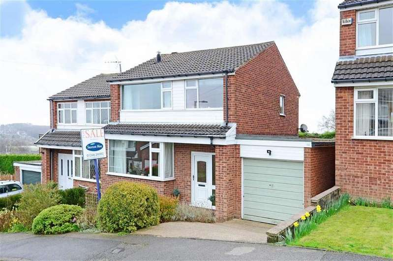 3 Bedrooms Semi Detached House for sale in 39, Pembroke Road, Dronfield, Derbyshire, S18