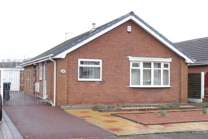 2 Bedrooms Bungalow for sale in Avondale Crescent, Blackpool, Lancashire, FY4