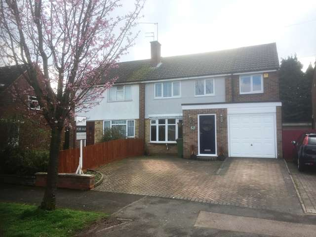 3 Bedrooms Semi Detached House for sale in PRIORY WALK LEICESTER FOREST EAST LE3