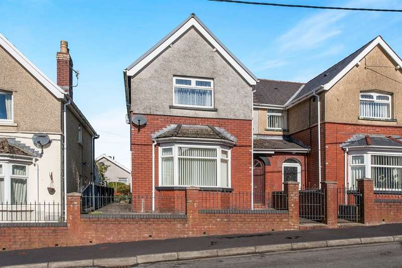 2 Bedrooms Semi Detached House for sale in Garden City, Rhymney, Tredegar