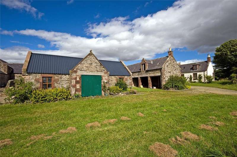 5 Bedrooms Detached House for sale in Upper Lenshaw Farmhouse, Rothienorman, Inverurie, Aberdeenshire