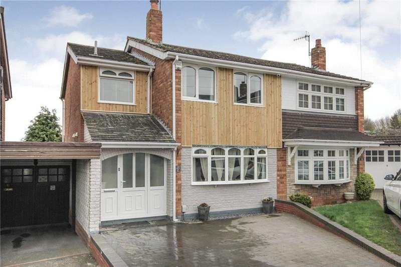 4 Bedrooms Semi Detached House for sale in Silva Avenue, Kingswinford, West Midlands, DY6