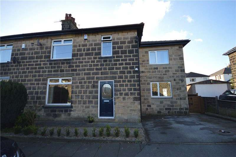4 Bedrooms Semi Detached House for sale in Ashtofts Mount, Guiseley, Leeds, West Yorkshire