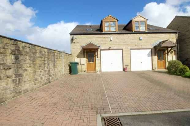 4 Bedrooms Semi Detached House for sale in Carriage Fold, Cullingworth, West Yorkshire, BD13 5DW