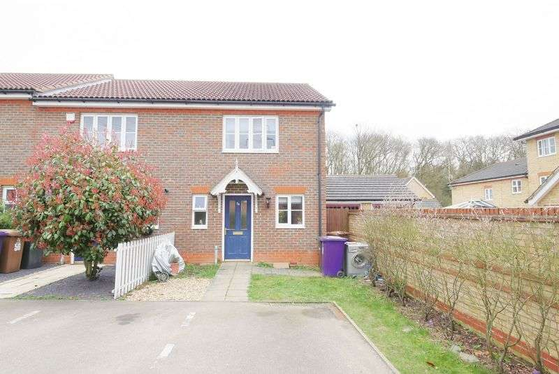 2 Bedrooms Terraced House for sale in Grampian Place, Stevenage