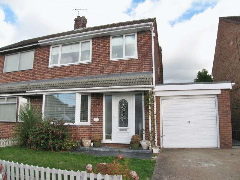 3 Bedrooms Semi Detached House for sale in Chatsworth Avenue, Radcliffe-on-Trent