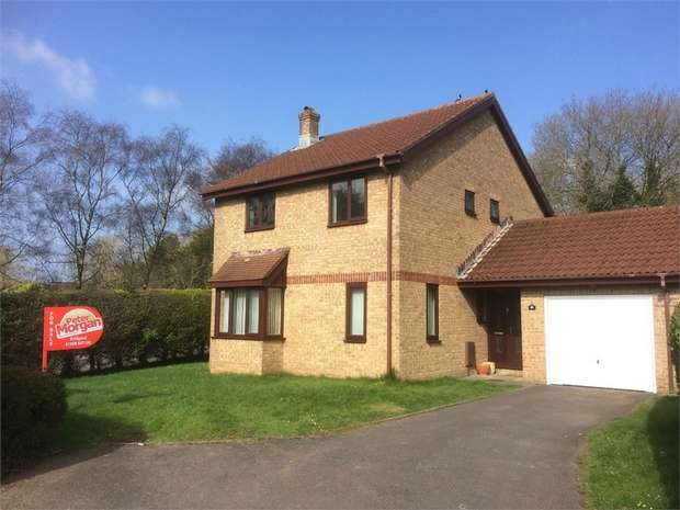 4 Bedrooms Detached House for sale in Tremains Court, Brackla, Bridgend, Mid Glamorgan