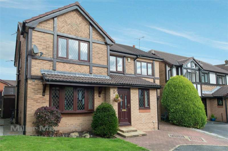 4 Bedrooms Detached House for sale in Hall Gate, Westhoughton, Bolton, Lancashire