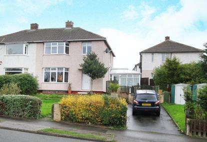 3 Bedrooms Semi Detached House for sale in Edale Road, Mastin Moor, Chesterfield, Derbyshire