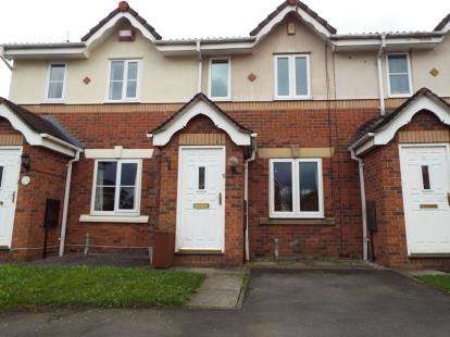 2 Bedrooms Terraced House for sale in Rivermead Way, Whitefield, Manchester, Greater Manchester