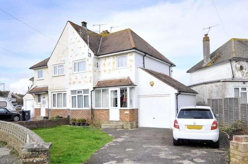 3 Bedrooms Semi Detached House for sale in The Broadway, Lancing