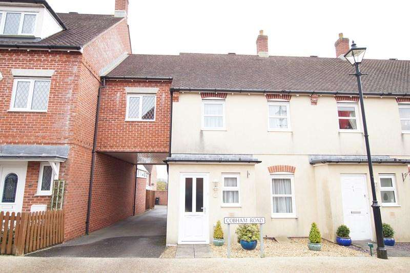 3 Bedrooms Terraced House for sale in Cobham Road, Blandford Forum
