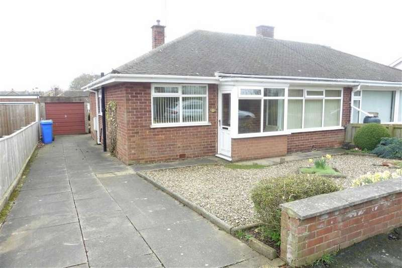 2 Bedrooms Semi Detached Bungalow for sale in Sandsacre Avenue, Bridlington, East Yorkshire