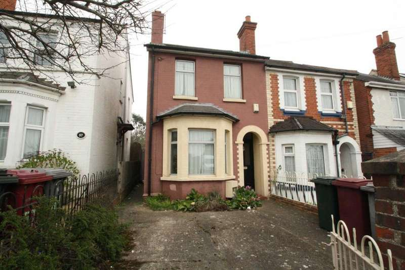 3 Bedrooms End Of Terrace House for sale in Northumberland Avenue, Reading