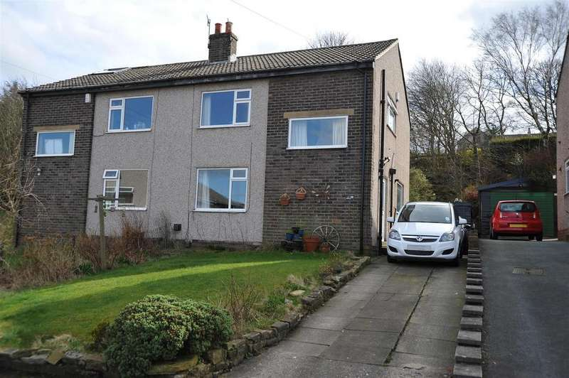 3 Bedrooms Semi Detached House for sale in Hill End Grove, Horton Bank Top, Bradford, BD7 4RP