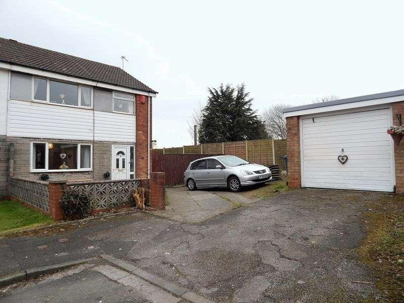 3 Bedrooms Semi Detached House for sale in Smalley Croft, Penwortham, Preston
