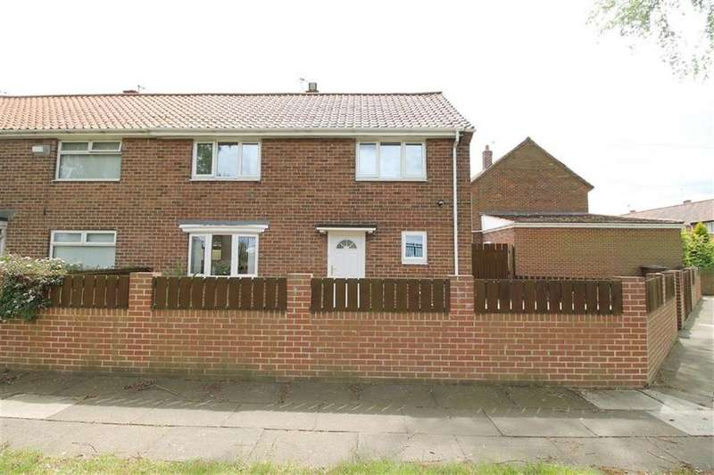 3 Bedrooms Semi Detached House for sale in Kestrel Place, Newcastle Upon Tyne