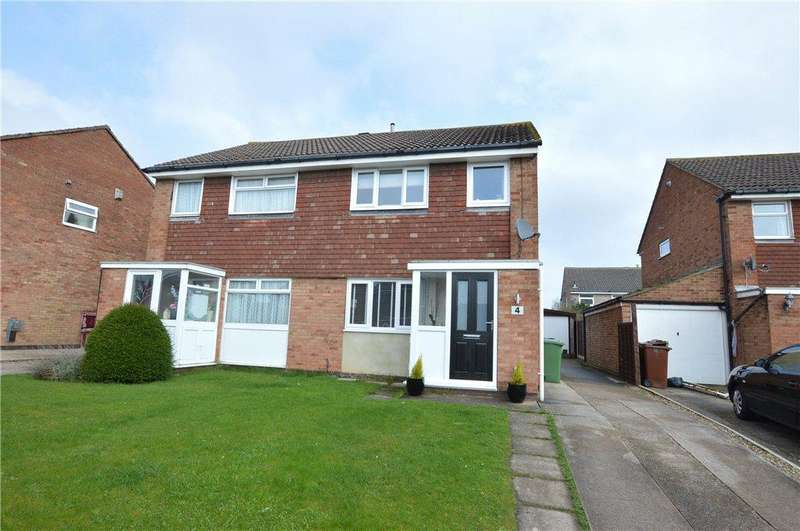 3 Bedrooms Semi Detached House for sale in Invargarry Close, Garforth, Leeds, West Yorkshire