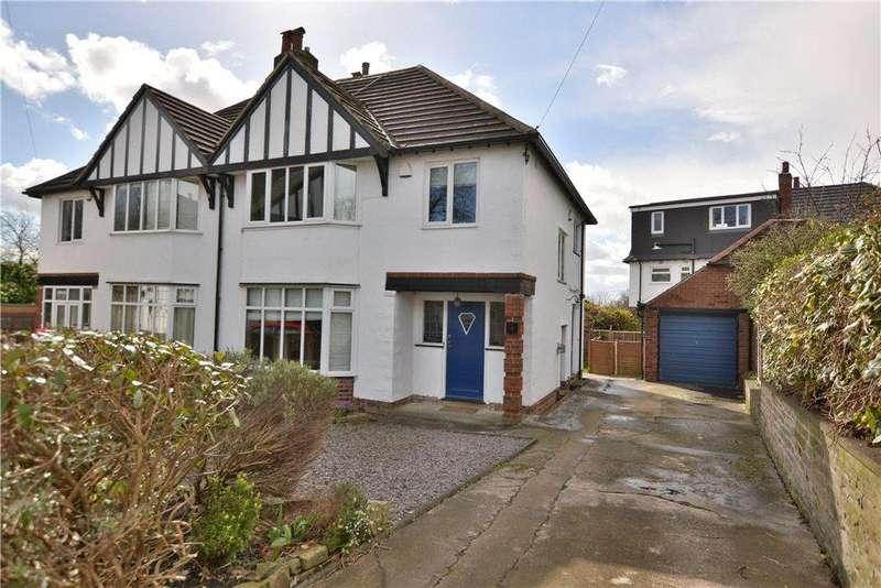 3 Bedrooms Semi Detached House for sale in Norfolk Walk, Chapel Allerton, Leeds