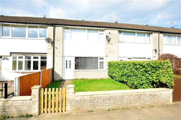 3 Bedrooms Terraced House for sale in Wharton Gardens, Winsford