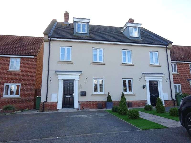 4 Bedrooms Terraced House for sale in Dolphin Road, Costessey, Norwich