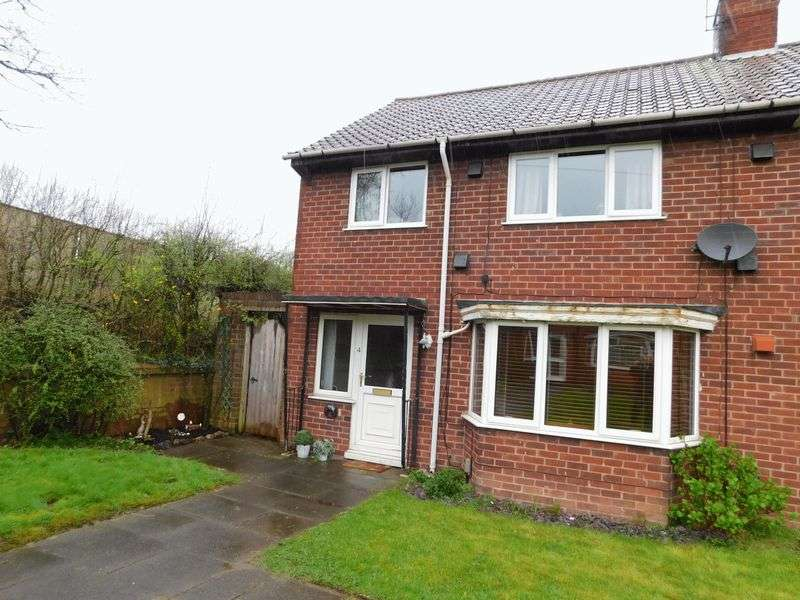 3 Bedrooms Semi Detached House for sale in Southfields Close, Stafford