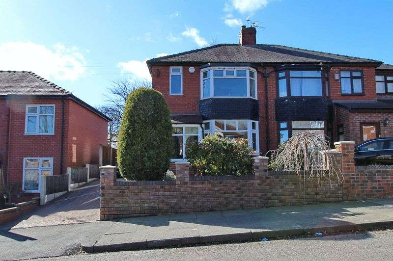 3 Bedrooms Semi Detached House for sale in Sandy Lane, Prestwich, Manchester