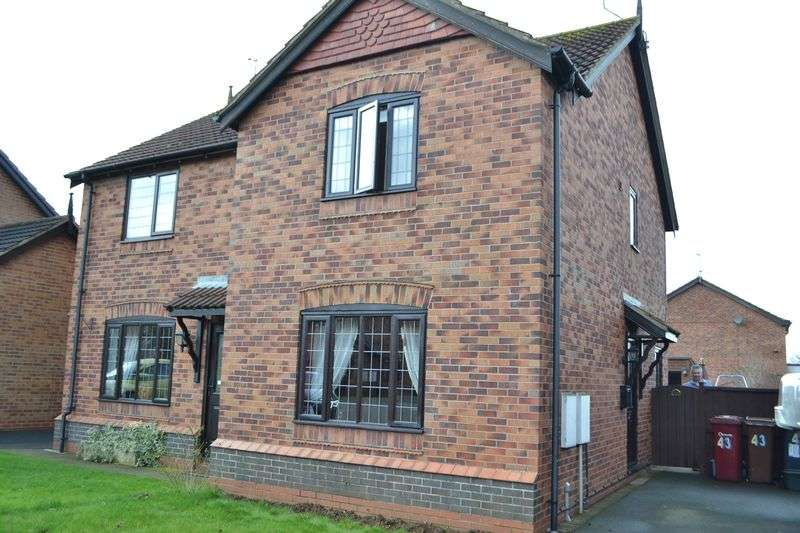 2 Bedrooms Semi Detached House for sale in Dale Park Avenue, Winterton