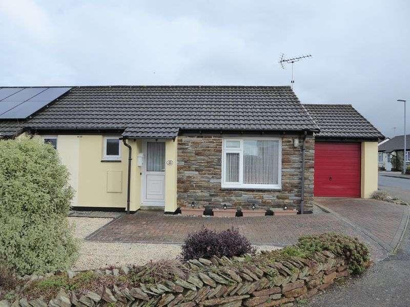 1 Bedroom Semi Detached Bungalow for sale in Trehannick Close, St Teath, Bodmin