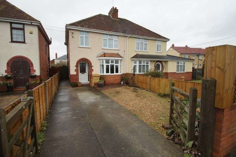 3 Bedrooms Semi Detached House for sale in Main Road, West Huntpsill