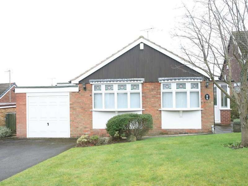 2 Bedrooms Detached Bungalow for sale in 8 Windermere place, Cannock, WS11 1DU