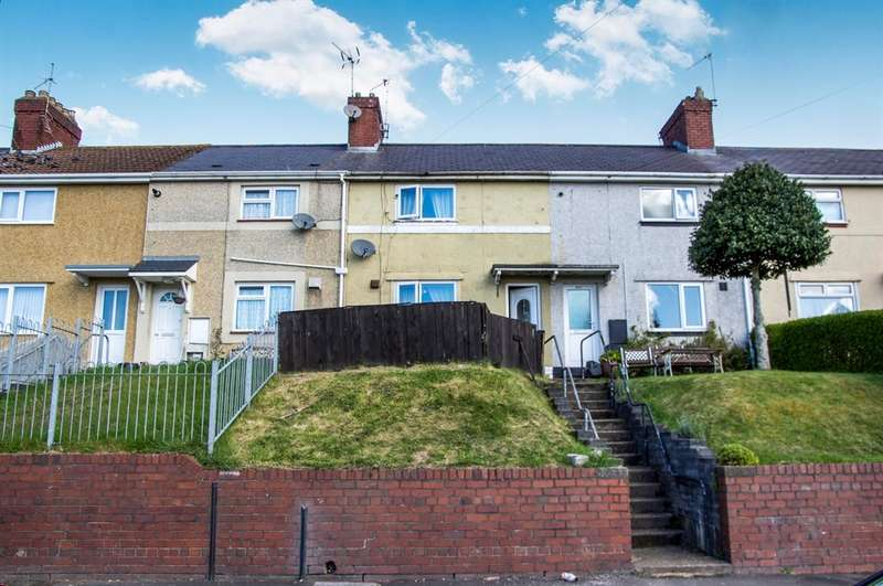 2 Bedrooms Terraced House for sale in Danygraig Road, Port Tennant, Swansea