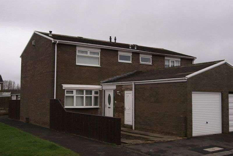 3 Bedrooms Semi Detached House for sale in Broomlee Road, Killingworth, Newcastle Upon Tyne