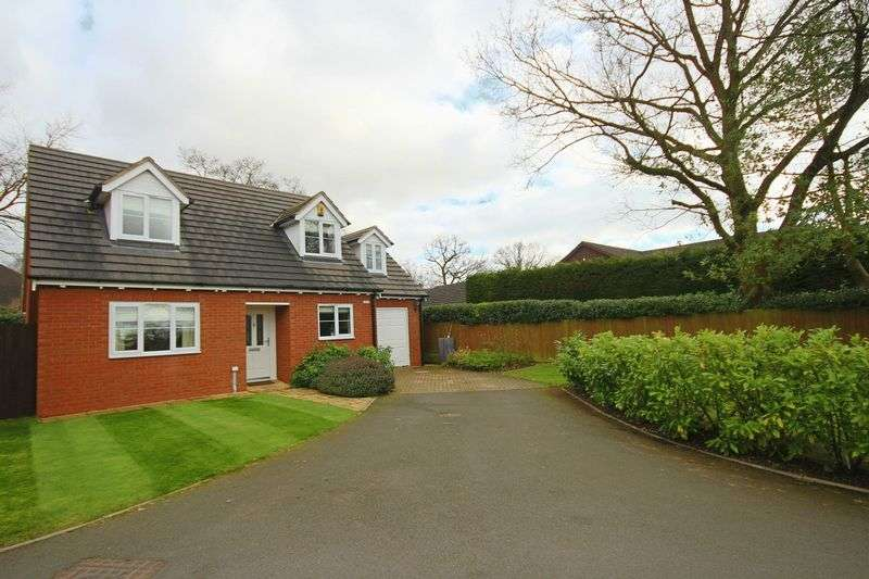 3 Bedrooms Detached House for sale in Oak Tree Close, Tern View, Market Drayton