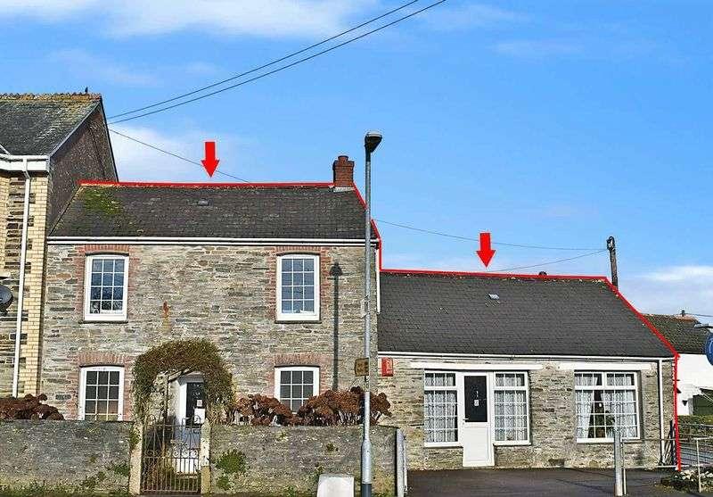 2 Bedrooms Semi Detached House for sale in Dobwalls, Liskeard