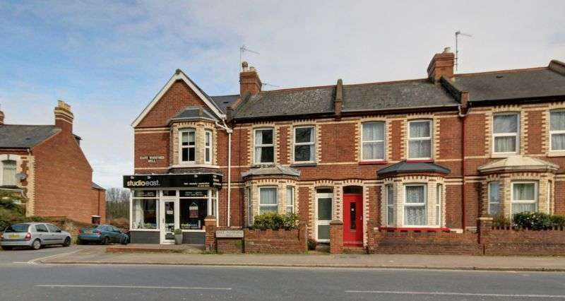 2 Bedrooms Terraced House for sale in East Wonford Hill, Exeter