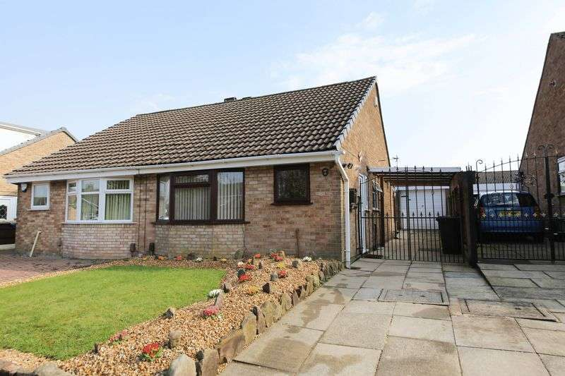 2 Bedrooms Semi Detached Bungalow for sale in Fotherby Place, Hawkley Hall