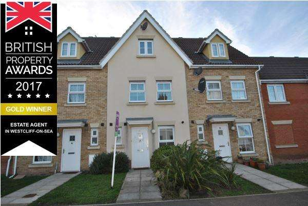 3 Bedrooms Town House for sale in VICTORIA ROAD, SOUTHEND ON SEA SS1