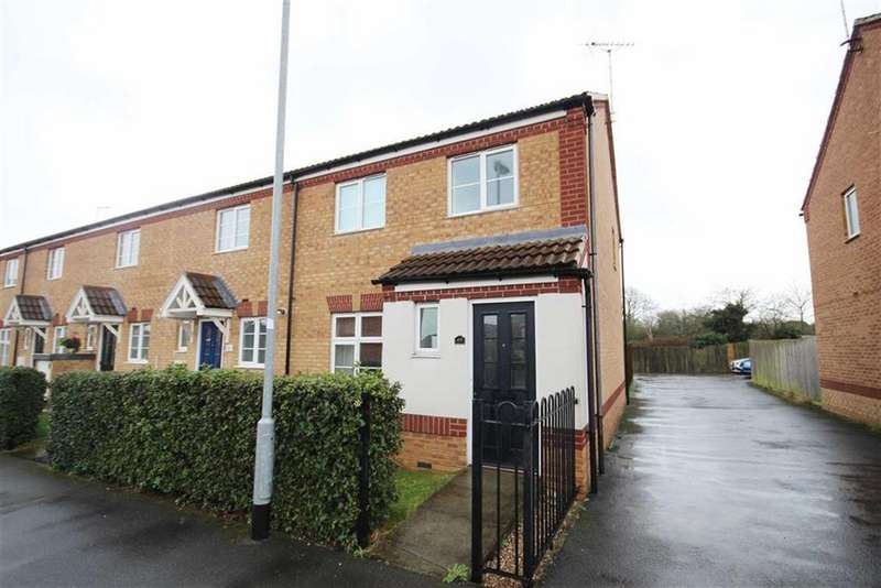 3 Bedrooms End Of Terrace House for sale in Tudor Close, Newark, Nottinghamshire