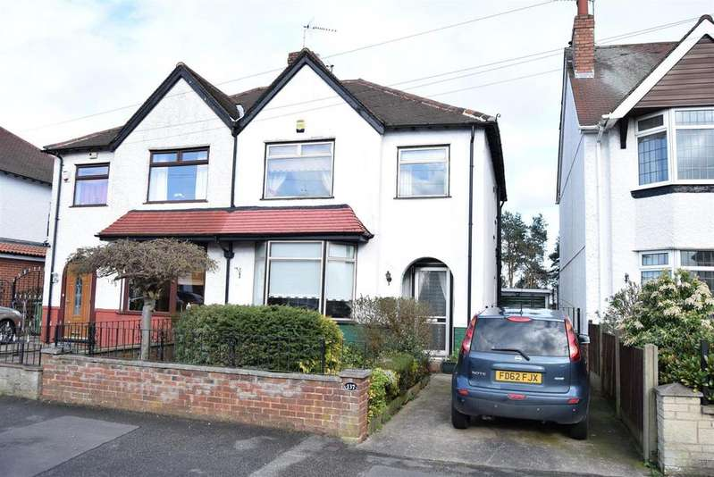 3 Bedrooms Semi Detached House for sale in Berry Hill Road, Mansfield