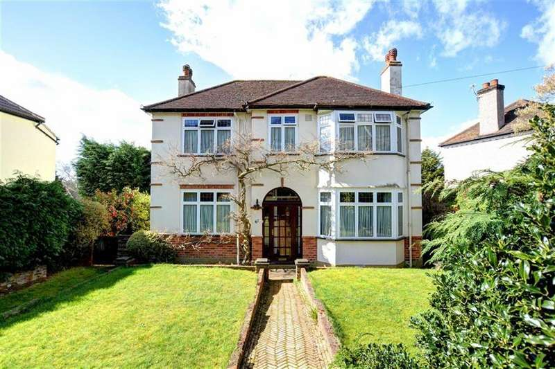4 Bedrooms Detached House for sale in Madeira Avenue, Shortlands, Kent