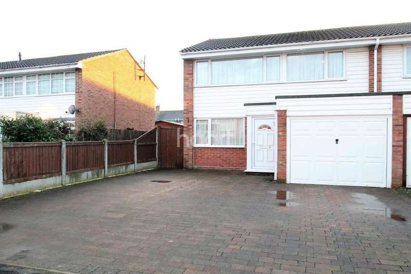 3 Bedrooms Semi Detached House for sale in Daniel Way, Witham, CM8