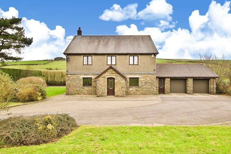 5 Bedrooms Detached House for sale in Glyn Ogwr, Glynogwr, Bridgend