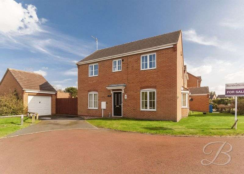 3 Bedrooms Detached House for sale in Tapton Park, Mansfield