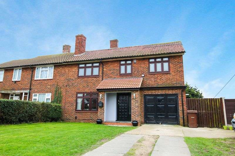 4 Bedrooms Semi Detached House for sale in Gatehope Drive, South Ockendon