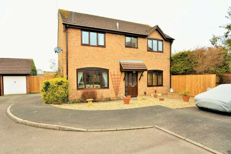 4 Bedrooms Detached House for sale in Burgess Close, Stratton, Wiltshire.