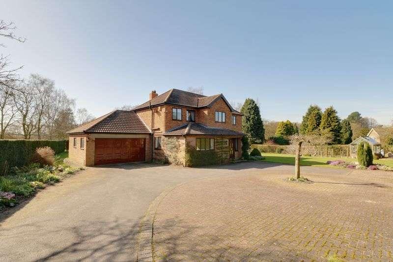 4 Bedrooms Detached House for sale in Barnetby Lane, Elsham