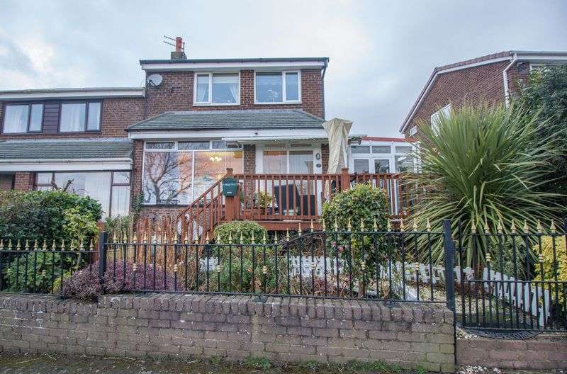 3 Bedrooms Semi Detached House for sale in Redesdale Avenue, Winlaton