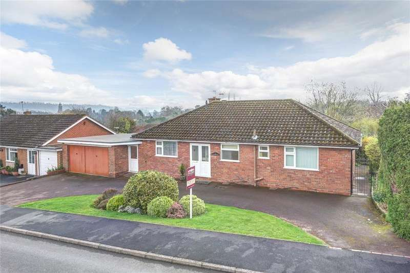3 Bedrooms Detached Bungalow for sale in Rosehill Drive, Bridgnorth, Shropshire