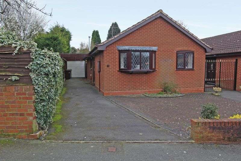 2 Bedrooms Detached Bungalow for sale in FINCHFIELD, Glendale Close